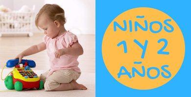 Juguetes educativos para niños de 1 a 2 años