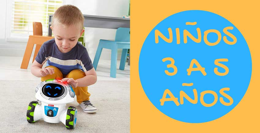 Juguetes educativos para niños de 3 a 5 años