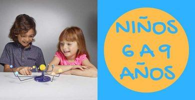 Juguetes educativos para niños de 6 a 9 años