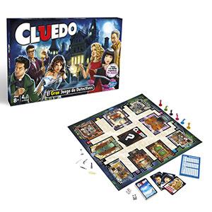 Hasbro Gaming Cluedo clásico
