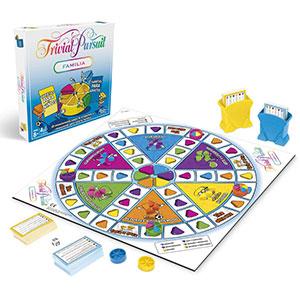 Hasbro Gaming- Trivial Pursuit Versión familia
