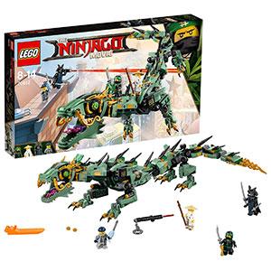 LEGO Ninjago - Dragón Mecánico del Ninja Verde, Juguete de Construcción de Aventuras Ninja (70612)