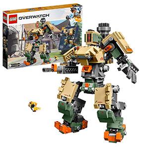 LEGO Overwatch - Bastion, Set de Construcción del Personaje de Videojuego, Incluye Minifigura de Ganymede (75974)