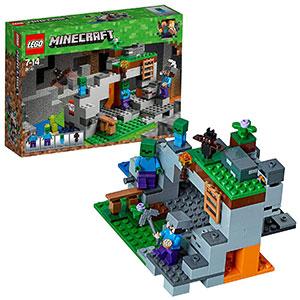Lego Minecraft-La Cueva de los Zombis Creative Adventures Juego de construcción, Multicolor (21141)