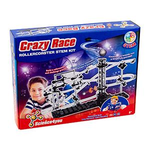 Circuito de canicas Crazy Race - Science4You