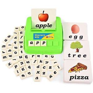 BOHS Literacy Wiz Fun Game - Palabras de Vista de un Caso Inferior - 60 Tarjetas de Memoria