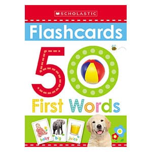 Flashcards: 50 First Words