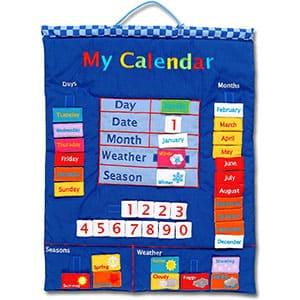 Wallhangings - Calendario de Tela para Pared