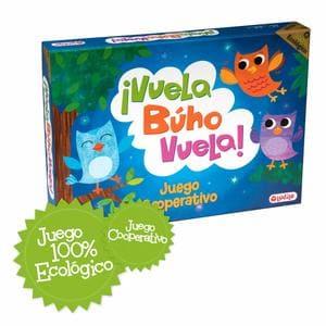¡Vuela Búho Vuela! Juego de mesa para niños cooperativo