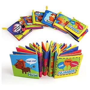 6 libros de texturas en inglés