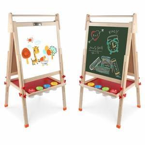 Arkmiido Pizarra Infantil con pies Regulables