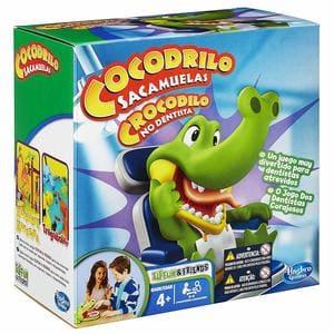 Hasbro - Cocodrilo sacamuelas, Juego de Habilidad