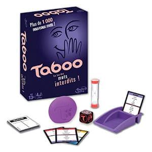 Hasbro Tabú - Juego de tablero francés