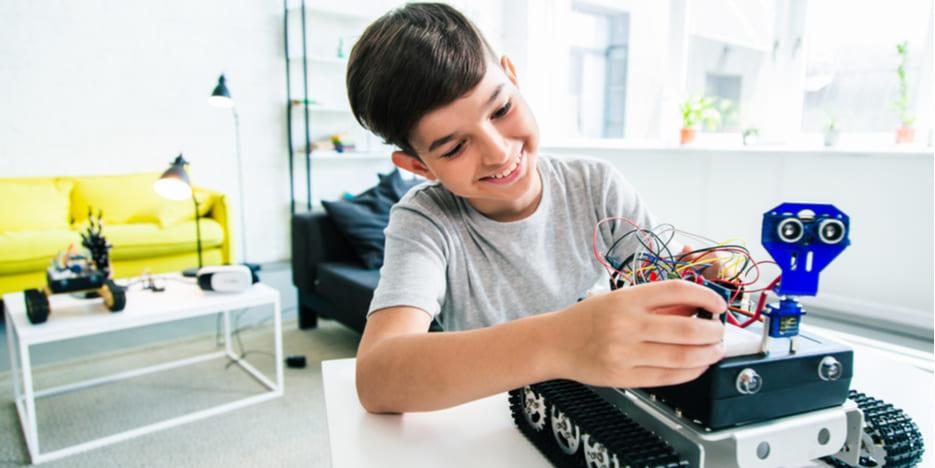 Kits de iniciación a la robótica para niños