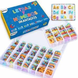 Letras y Números Magnéticos para Niños