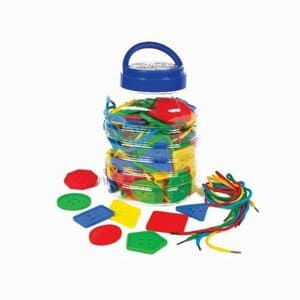 Play & Discover - Juego de Botones y Cordones