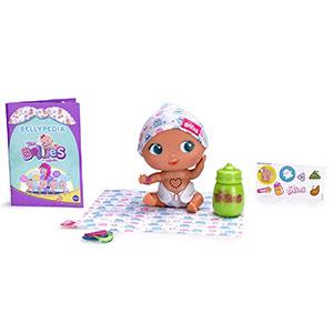 The Bellies - Bobby -Boo, muñeco interactivo para niños y niñas